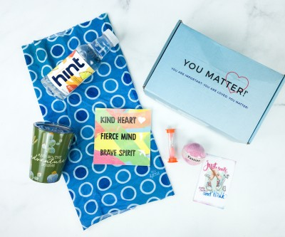 You Matter Box September 2019 Subscription Box Review