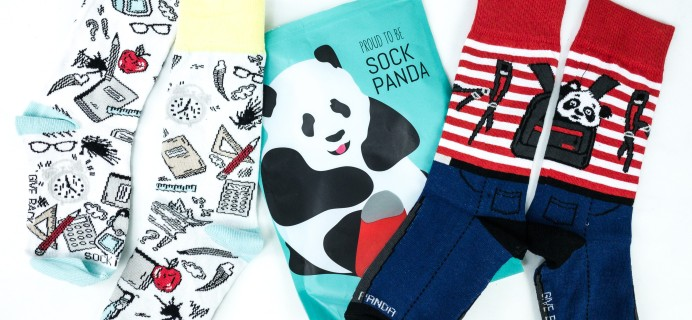 Sock Panda Tweens September 2019 Subscription Review + Coupon