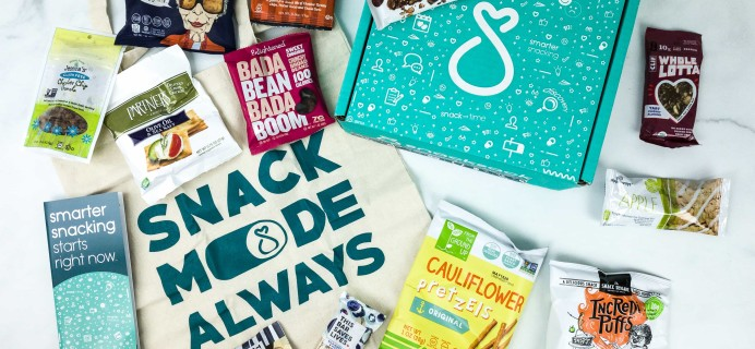 SnackSack September 2019 Subscription Box Review & Coupon – Classic