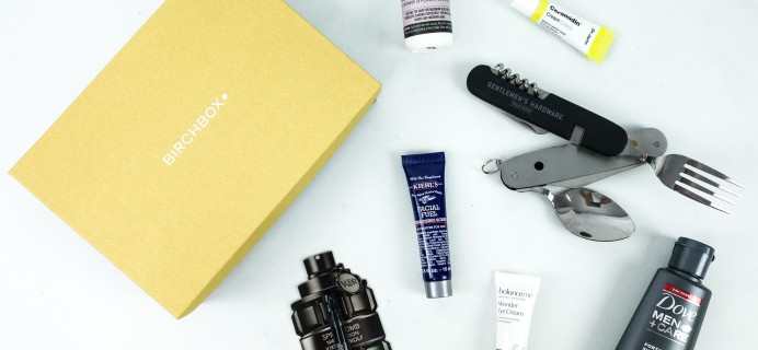 Birchbox Grooming October 2019 Subscription Box Review & Coupon