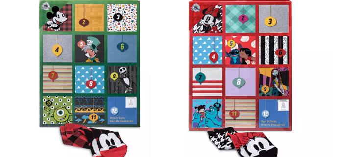 shopDisney 2019 Disney Socks Advent Calendars Now Available!