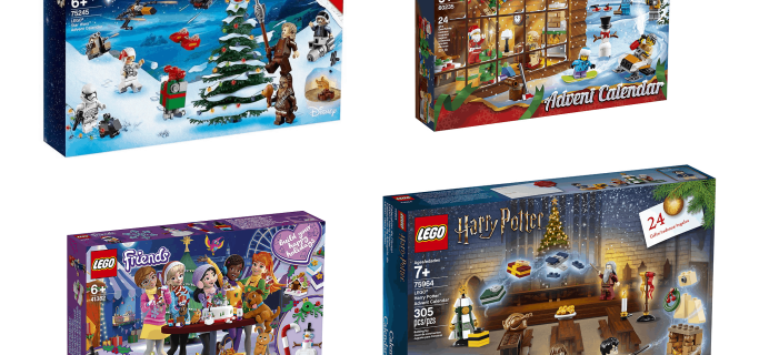 2019 Lego Advent Calendars Available Now + Full Spoilers!