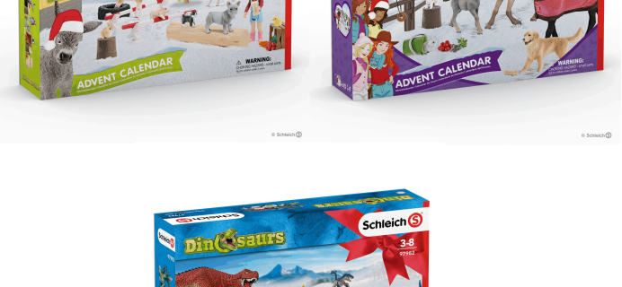 Schleich Advent Calendars 2019 Available Now!