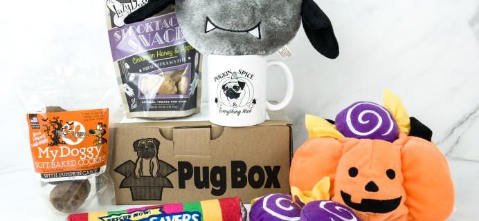 Pug Box September 2019 Subscription Box Review + Coupon!