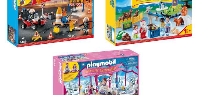Playmobil Advent Calendars PRICE DROP! As low as $16.49!