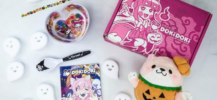 Doki Doki October 2019 Subscription Box Review & Coupon