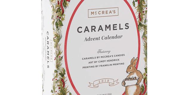 2019 McCrea's Caramel Advent Calendar Available Now!