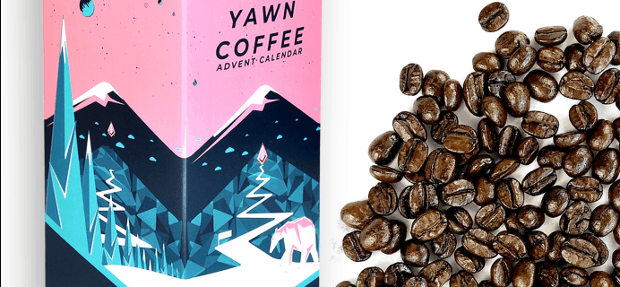 2019 Yawn Coffee Advent Calendar Available Now + Full Spoilers!