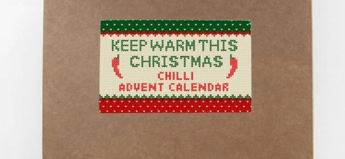 2019 Marvling Bros Chili Advent Calendar Available Now!
