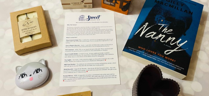 Sweet Reads Box September 2019 Subscription Box Review + Coupon
