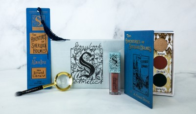 Storybook Club Cosmetics Book Club Box Review – THE ADVENTURES OF SHERLOCK HOLMES