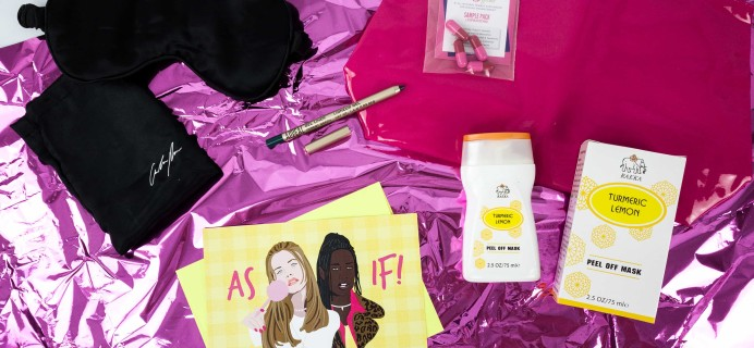 Slutbox by Amber Rose September 2019 Subscription Box Review & Coupon {NSFW}