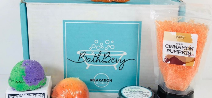 Bath Bevy October 2019 Subscription Box Review + Coupon