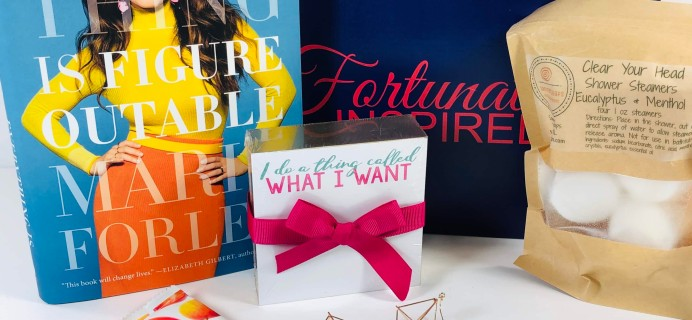 Fortunately Inspired October 2019 Subscription Box Review + Coupon