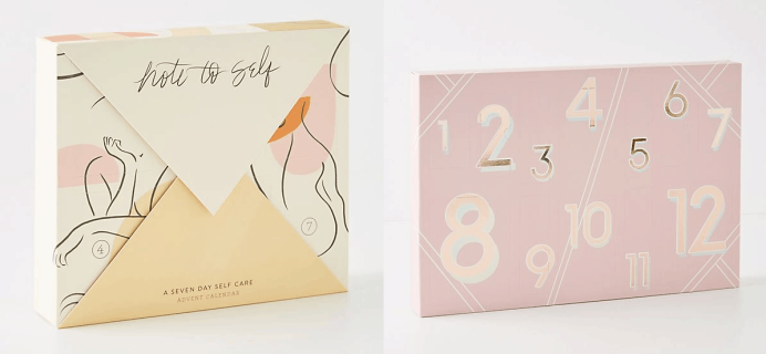 2019 Anthropologie Beauty Advent Calendars Available Now + Spoilers!