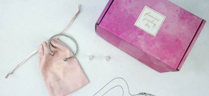 Glamour Jewelry Box September 2019 Subscription Box Review + Coupon