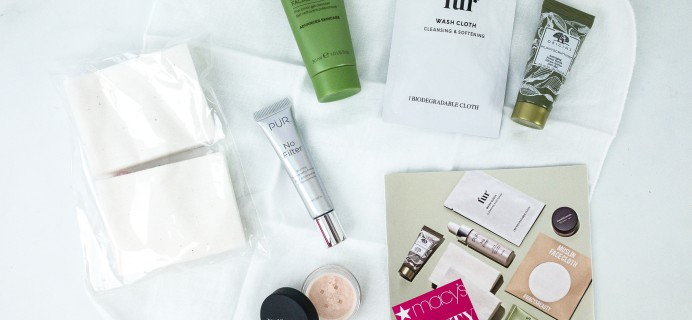 Macy's Beauty Box October 2019 Subscription Box Review