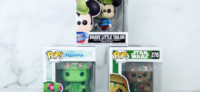Pop In A Box October 2019 Funko Subscription Box Review & Coupon