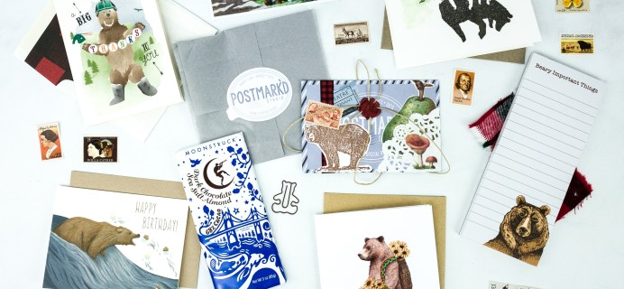 PostBox Subscription Box Review + Coupon – October 2019