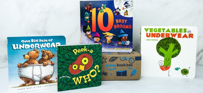 Amazon Book Box Kids Review – AGE 3-5 October 2019
