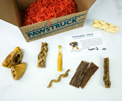 Pawstruck October 2019 Subscription Box Review + 50% Off Coupon