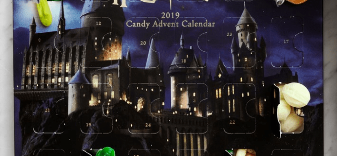 2019 Harry Potter Candy Advent Calendar Available Now!