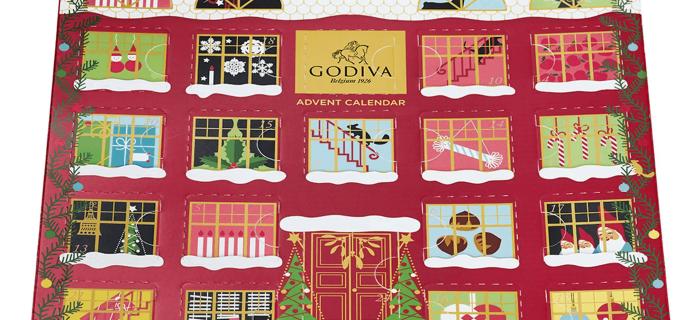 2019 Godiva Chocolate Advent Calendar Available Now!