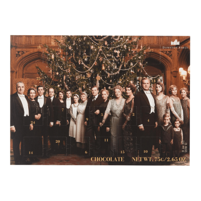 2019 Downton Abbey Chocolate Advent Calendar Available Now!
