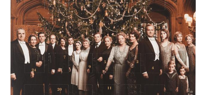 2019 Downton Abbey Chocolate Advent Calendar Available Now!