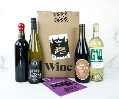 Winc October 2019 Subscription Box Review & Coupon