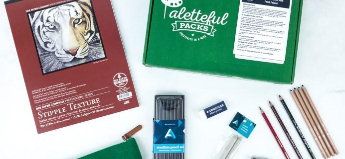 Paletteful Packs Subscription Box Review + Coupon – Pencil Palooza