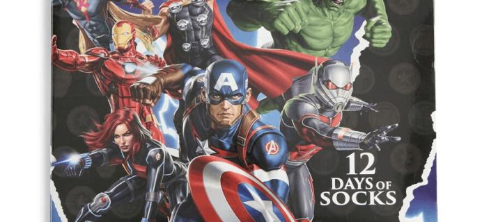 New 2019 Marvel Socks Advent Calendar Available Now!