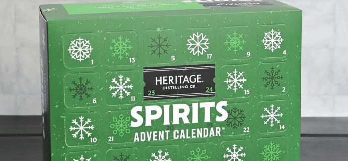 2019Heritage Distilling Co. Advent Calendar Available Now!