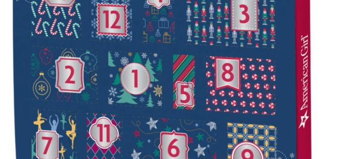 American Girl 2019 Advent Calendar Available Now!
