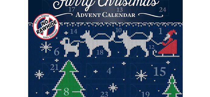 2020 DreamBone Furry Christmas Advent Calendar for Dogs Available Now!