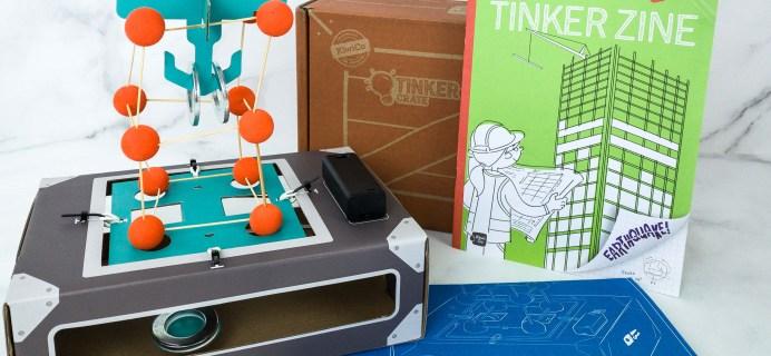 KiwiCo Tinker Crate Review & Coupon – SHAKE TABLE