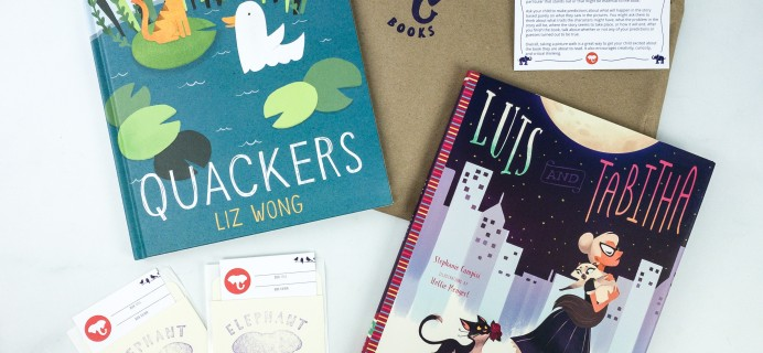 Elephant Books November 2019 Subscription Box Reviews – PICTURE BOOKS