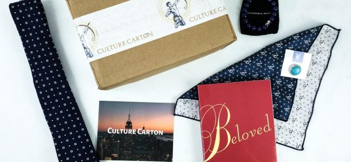 Culture Carton September 2019 Subscription Box Review + Coupon