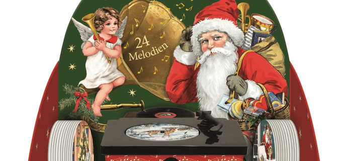Coppenrath Vintage Gramophone Advent Calendar 2019 Available Now!