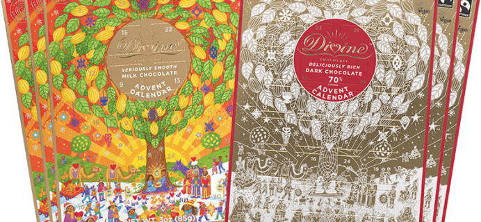 2020 Divine Chocolate Advent Calendars Available Now!