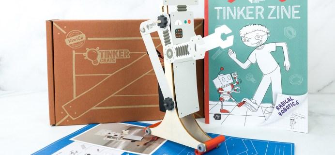 KiwiCo Tinker Crate Review & Coupon – WALKING ROBOT