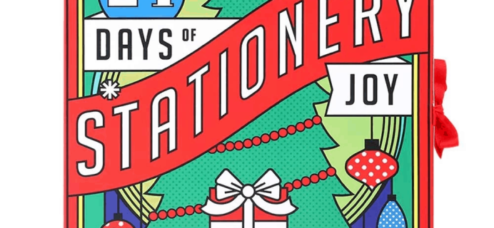 2019 Paperchase Stationery Advent Calendar Available!