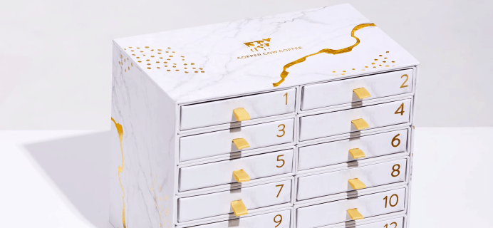 2020 Copper Cow Coffee Advent Calendar Available Now For Preorder!