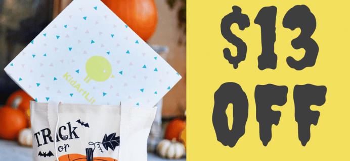 KidArtLit Halloween Flash Sale: Save $13!