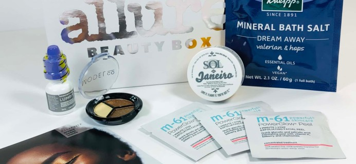 Allure Beauty Box October 2019 Subscription Box Review & Coupon