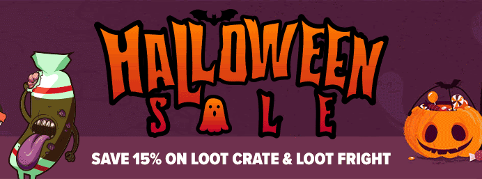 Loot Crate Halloween Sale: Get 15% Off on Loot Crate & Loot Fright!