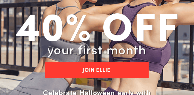 Ellie Halloween Sale: Get 40% Off Your First Box!