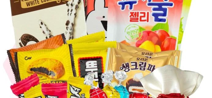 Korean Snack Box November 2019 FULL Spoilers + Coupon!