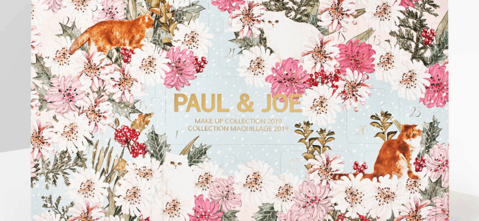 2019 Paul & Joe Makeup Advent Calendar Available Now + Full Spoilers!