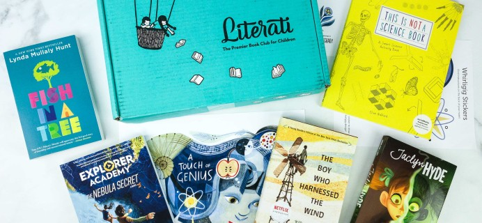 Literati Kids Club Phoenix Box Review + Coupon – October 2019